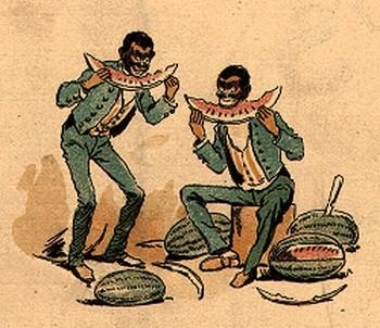 Quale negro non è ghiotto di cocomero?