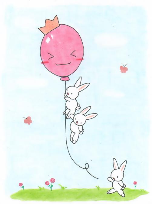 cute_bunnies_playing_by_VioletLunchell