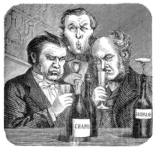 """Con la puzza sotto il naso, bevono solo vini costosi e dichiarano di sentire aromi assurdi: (e poi magari confondono il Tavernello per un Bordeaux base) i """"critici"""" che non servono."""