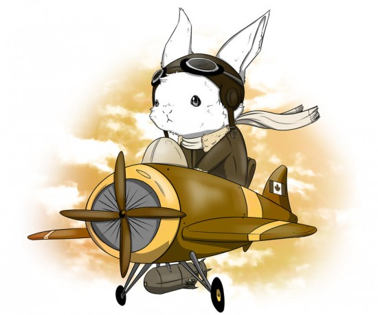 aviator_bunny_by_kidbrainer-d8l7e0s