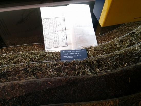 Una copia del Cha Jing di Lu Yu, il più antico testo che parla del tè e della sua preparazione. Testo sacro. Visione. Presto, qualcuno sacrifichi un pollo a Satana!