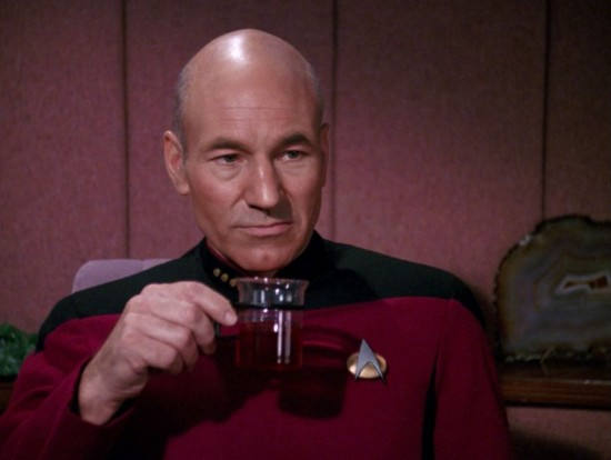 """""""Tè. Earl Grey. Caldo."""" La monotonia di Picard."""